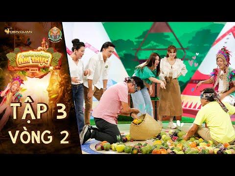 Thiên đường ẩm thực 6|Tập 3 Vòng 2: Trường Giang hú vía vì Phương Bình