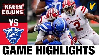 #19 Louisiana vs Georgia State Highlights | Week 3 | 2020 College Football Highlights