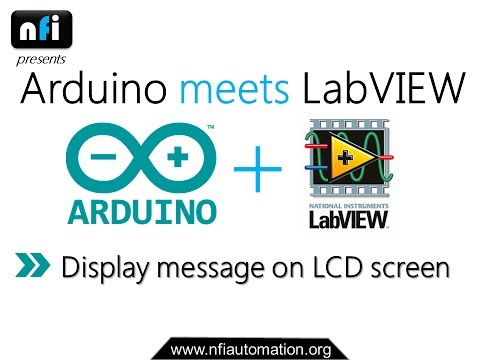 Arduino meets LabVIEW – NFI Automation Academy