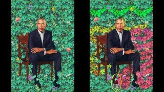 Snakes Alive and More in the Portrait of Barack Obama