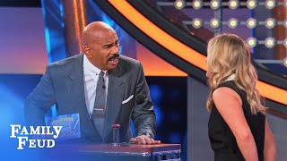 Bree wants a DO-OVER! | Celebrity Family Feud