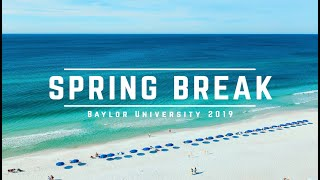 SPRING BREAK IN FLORIDA | Destin, Seaside, & Tri Delta | Baylor University 2019