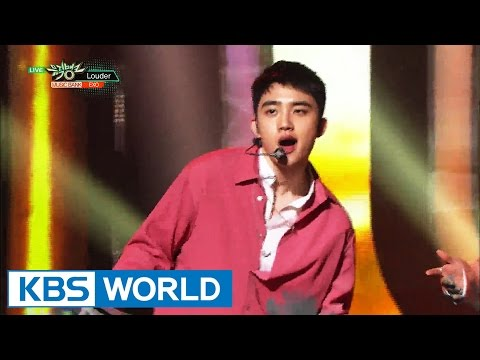 EXO - Louder [Music Bank HOT Stage / 2016.08.26]