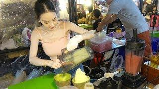 Thailand Street Food Rot Fai Ratchada Night Market