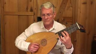 Greensleeves (anon and F. Cutting): Daniel Estrem, renaissance lute