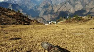 The beautiful auli view