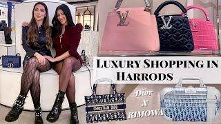 Luxury Shopping In Harrods With Erica   Dior x Rimowa, Louis Vuitton, Chanel, Fendi, YSL, Gucci