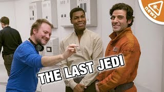 The 3 Last Jedi Controversies Debunked by Rian Johnson! (Nerdist News w/ Jessica Chobot)