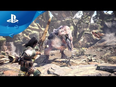 Monster Hunter: World | Worldwide Reveal | PS4
