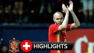 Tây Ban Nha vs Thụy Sĩ | Full Highlight Giao Hữu Quốc Tế (3/6/2018 HD)