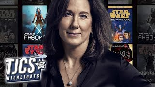 Lucasfilm's Kennedy Suggests There Are No Star Wars Books Or Comics To Draw From