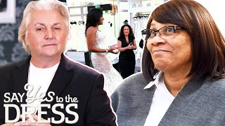David Emanuel Comes Up With Plan To Convince Mum About The Bride's Choice | Say Yes To The Dress UK