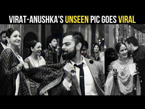 Unseen pics of Anushka & Kohli dancing at a wedding bash go viral