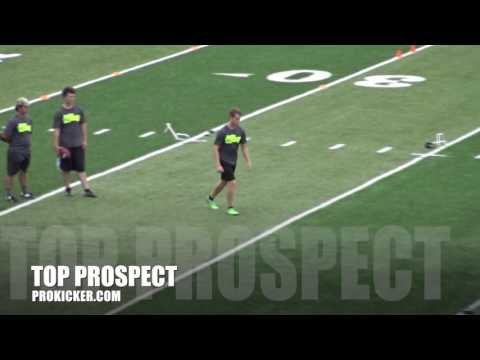Tanner Dawson, Kickoffs, Ray Guy Prokicker.com Top Prospect Camp 2016
