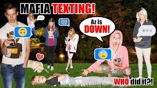 Mafia Game with a TWIST! Playing MAFIA With Phones and TEXT Messages!
