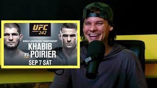 Theo Von on Khabib vs Dustin Poirier and Going To UFC 242