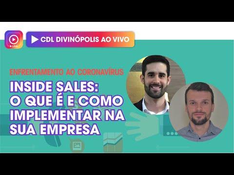 Imagem Live: Inside Sales - o que é e como implementar na sua empresa