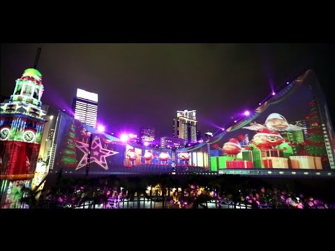 Hong Kong Pulse 3D Light Show – Hong Kong WinterFest Highlights