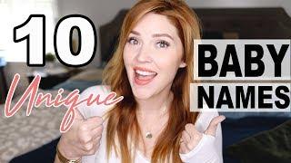 10 UNIQUE Baby Girl Names!