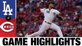 Dodgers vs. Reds Game Highlights (9/17/21) | MLB Highlights