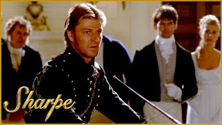 Sharpe Is Challenged To A Fencing Competition | Sharpe