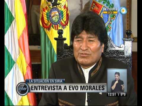 V7inter: Entrevista a Evo Morales