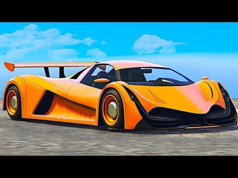 NEW $4,000,000 FASTEST SUPERCAR! (GTA 5 DLC)