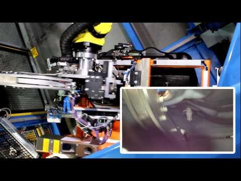 SPM IWeld - Robotic Internal Weld for Fuel tanks
