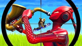 *LUCKIEST* ACCIDENTAL SHOT EVER! - Fortnite Funny Fails and WTF Moments! #420