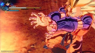 DRAGON BALL XENOVERSE 2  SSJ3 Yamta  Gameplay