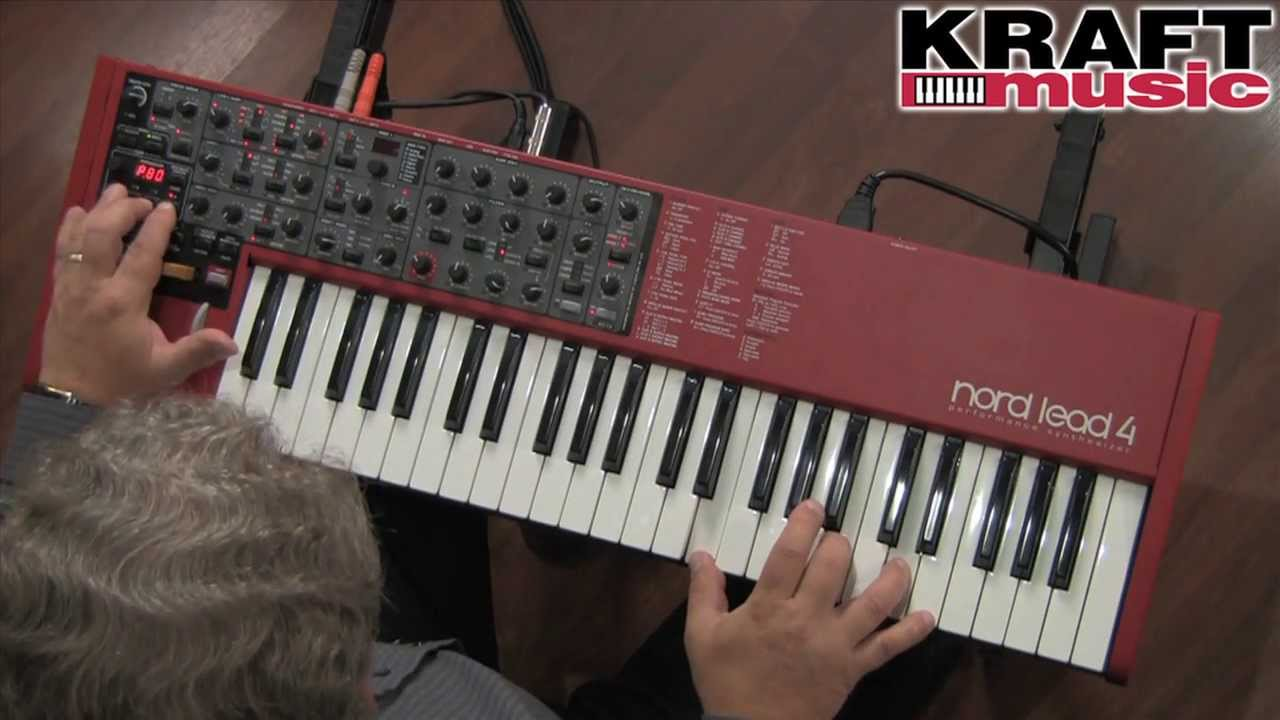 nord lead 4 virtual analog synth demo with chris martirano youtube. Black Bedroom Furniture Sets. Home Design Ideas