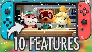 ANIMAL CROSSING SWITCH - 10 Features We Need