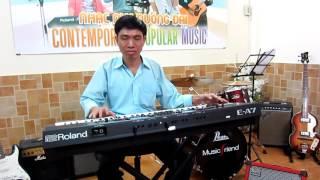 Keyboard hữu hòa(cổ trên organ)