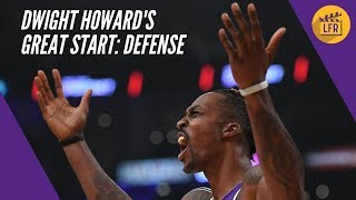 Dwight Howard's Great Start - Defense