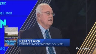 Ken Starr on Clinton investigation and Mueller probe parallels