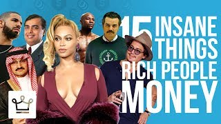 15 Insane Things Rich People Did With Their Money
