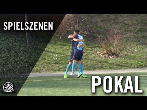 VSG Altglienicke - FC Viktoria 1889 Berlin (Halbfinale, Berliner Pokal der 1. Herren 2016/2017) - Spielszenen | SPREEKICK.TV