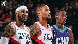 Charlotte Hornets vs Portland Trail Blazers - Full Game Highlights   January 13   2019-20 NBA Season
