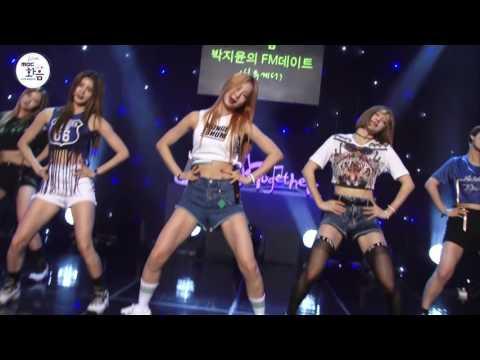 EXID - Up&Down , EXID - 위 아래 [2016 Live MBC harmony with 박지윤의 FM데이트]
