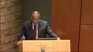 Larry S. Gibson at Penn State Law on Thurgood Marshall