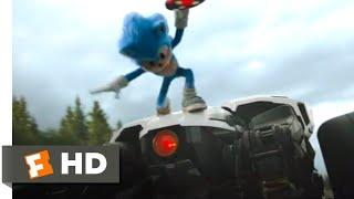 Sonic the Hedgehog (2020) - Sonic vs. Robotnik Scene (5/10) | Movieclips