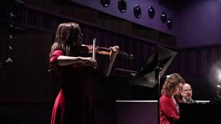 "Beethoven: Sonata for violin & piano, ""Spring"" 2nd mov Andante - Violinist Lotta Virkkunen"