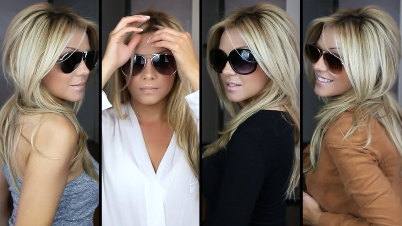 Styling Sunglasses For All Face Shapes Youtube