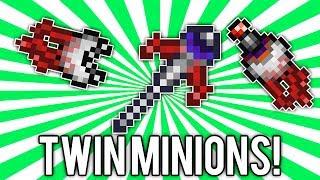 Terraria 1.2.4: Optic Staff (Mini-Twins Minions Summoner!) @demizegg