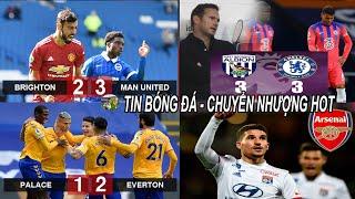 💥Tin bóng đá 27/9|Thần may mắn phù hộ MU có 3đ,Tân binh sai lầm Chel thoát thua, Everton dẫn đầu BXH