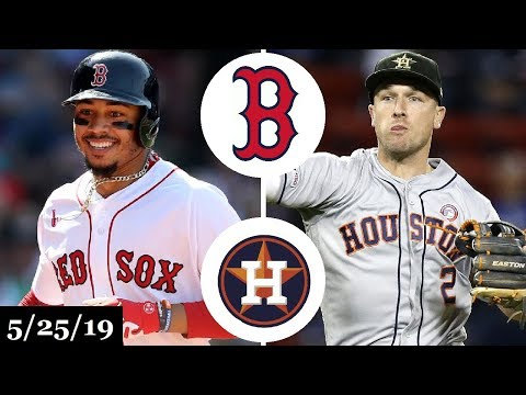 Boston Red Sox vs Houston Astros - Full Game Highlights | May 25, 2019 | 2019 MLB Season