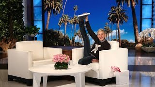 Ellen Finds an Incredibly Flexible Audience Dancer