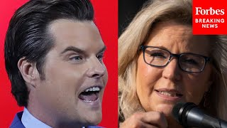 Matt Gaetz RIPS Liz Cheney in CPAC 2021 speech