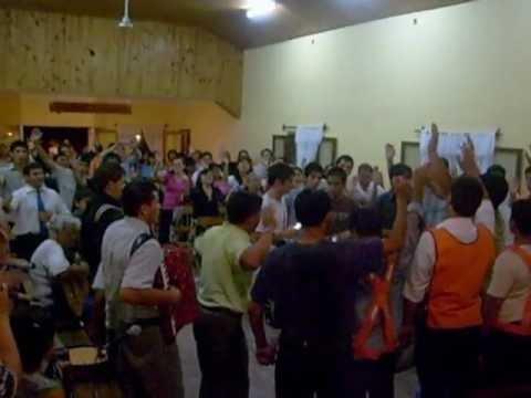 Congreso Nacional de Ciclistas en Iglesia Evangélica Pentecostal Argentina de J.J. Gomez