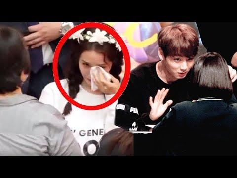 Kpop Idols React When Fans Crying